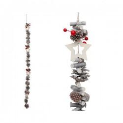 Vianočná reťaz - dekoračná - 100 cm