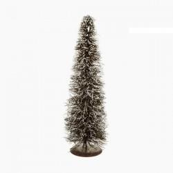 Vianočný stromček - ratan prírodný biely - 40 x 15 x 15 cm
