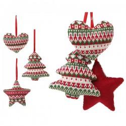 Vianočná ozdoba na stuhe - 12 cm