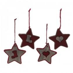 Vianočná ozdoba - hviezdička