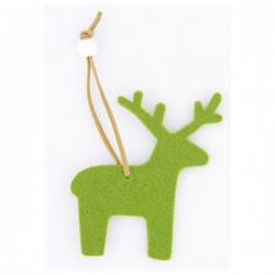 Vianočná ozdoba - zelený sob