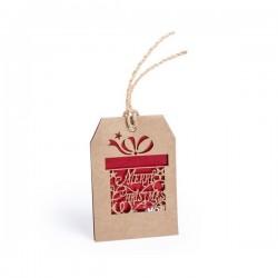 Vánoční jmenovka - dáreček