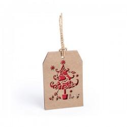 Vianočná menovka - stromček