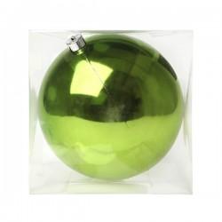Vianočná banka - zelená - 20 cm - 1 ks