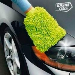 Rukavica na umývanie auta - mikrovlákno