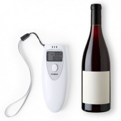 Digitálny alkohol tester - biely