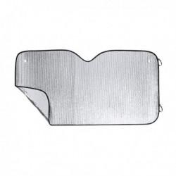 Slnečná clona do auta -180 x 90 cm - čierna/sivá