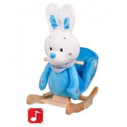 Hojdacia hračka - modrý zajačik - PlayTo