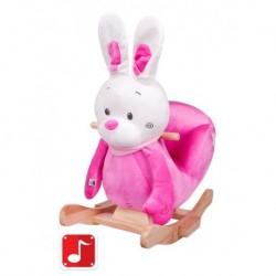 Hojdacia hračka - ružový zajačik - PlayTo