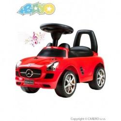 Detské odrážadlo Mercedes-Benz - Bayo - červené
