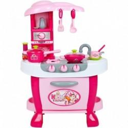 Veľká detská kuchynka s dotykovým senzorom + príslušenstvo - Bayo