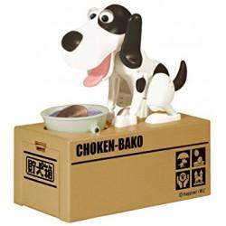 Pokladnička - hladný psík - čierno-biely