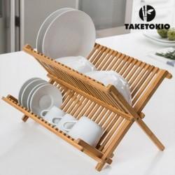 Bambusový odkvapávač na riad - TakeTokio