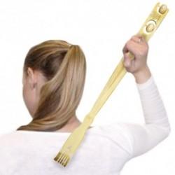 Masážne bambusové škrabadlo na chrbát - 46 cm