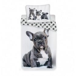 Bavlnené obliečky - Buldog - 140 x 200 - Jerry Fabrics