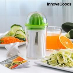 Krájač zeleniny s lisom na citrusy 4 v 1 - InnovaGoods