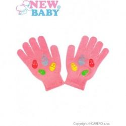 Detské zimné rukavice pre dievčatá - New Baby Girl