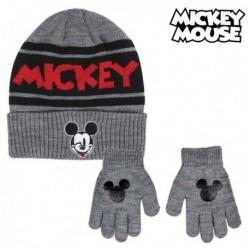 Čiapka a rukavice - Mickey Mouse - čierna
