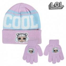 Čiapka a rukavice - LOL Surprise! - fialová