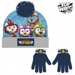 Čiapka a rukavice - Top Wing - námornícka modrá