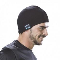 Športová čiapka s bluetooth - čierna