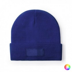 Jednofarebná zimná čiapka