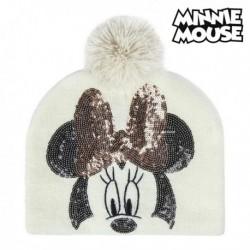 Detská čiapka - Minnie Mouse 74302 - biela