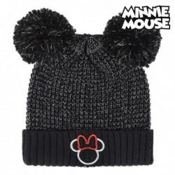 Detská čiapka - Minnie Mouse - čierna