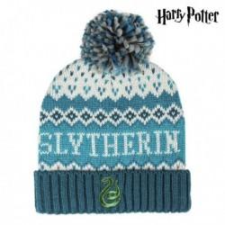 Detská čiapka - Harry Potter - Slytherin - modrá