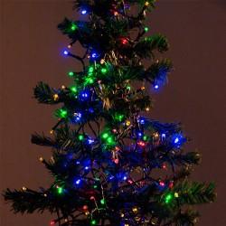 Vianočné osvetlenie - farebné - 192 LED