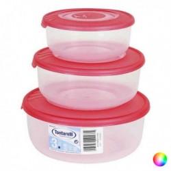 Súprava 3 desiatových boxov (0,5 l + 1 l + 2 l) - Tontarelli