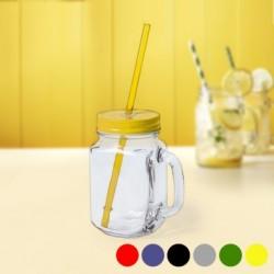 Uzatvárateľný pohár so slamkou 145494 - 500 ml