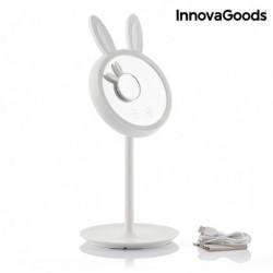 LED dotykové zrkadlo na líčenie 2 v 1 Mirrobbit - InnovaGoods
