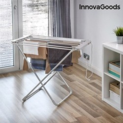 Skladací elektrický sušiak na bielizeň - 6 tyčí - 100 W - InnovaGoods