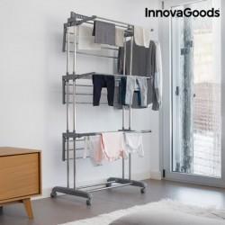 Skladací sušiak na kolieskach - 18 tyčí - InnovaGoods