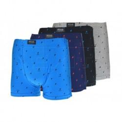 Pánske boxerky s bleskami - mix farieb - 1 ks - Pesail