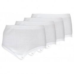 Komfortné bavlnené nohavičky 12647 - súprava 4 ks - Daisy