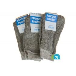 Klasické pracovné ponožky - 5 párov