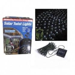 Solárna LED reťaz 100 LED - biela