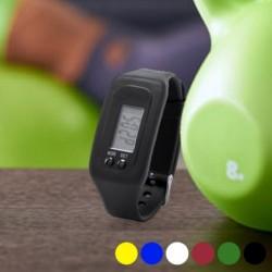 Fitness náramok s krokomerom a hodinkami, LCD