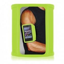 Športový náramok T-ARMBAND - Lycra - zelený
