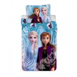 Bavlnené obliečky - Ľadové Kráľovstvo 2 - Snowflakes - 140/200 - Jerry Fabrics