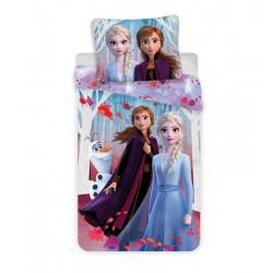 Bavlnená obliečka - Ľadové Kráľovstvo 2 - Leaves - 140/200 - Jerry Fabrics