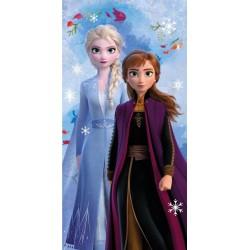 Osuška - Ľadové Kráľovstvo 2 - Snowflakes - 140x70 cm - Jerry Fabrics