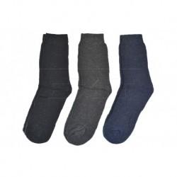 Teplé pracovné ponožky - mix farieb - 3 páry - Pesail