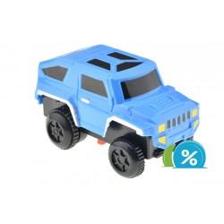 Nové autíčko k svietiacej autodráhe - šírka 6 cm - modré