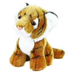 Plyšový tiger - sediaci - 18 cm - Rappa