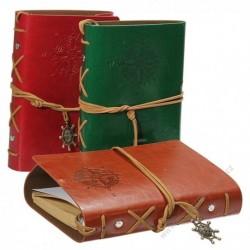 Originálny cestovateľský denník v kožených doskách