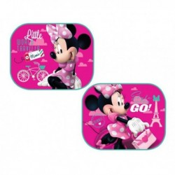 Slnečné clony do auta - Minnie Mouse - Ružové - 2 ks - Prexim