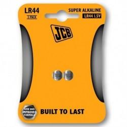 Alkalické batérie LR44 - 2 ks - JCB